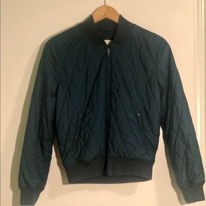 Quilted Wilfred Free Bomber Jacket